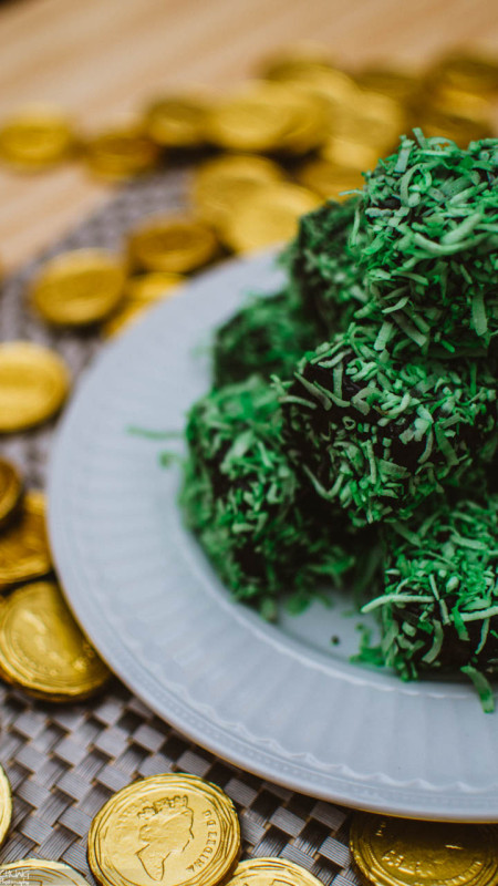 St. Patty's Lamingtons