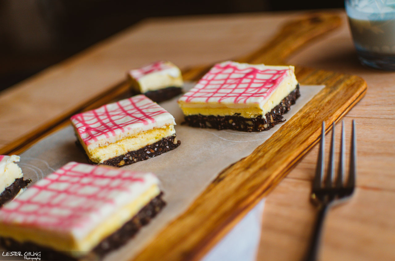 White Chocolate Lime Nanaimo Bars